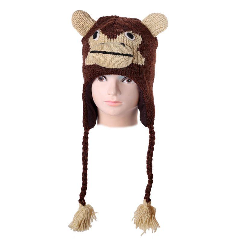 Wollmütze Monkey