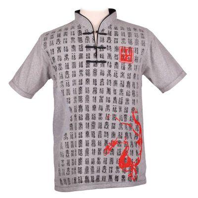 T-shirt Emperor Pinyin Grey