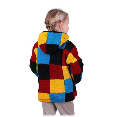 Wollpullover Colour Cubes