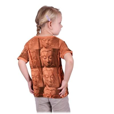Kinder T-shirt Sure Buddha Orange