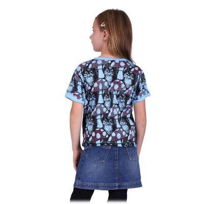 Kinder T-shirt Sure Chimpanzee Blue