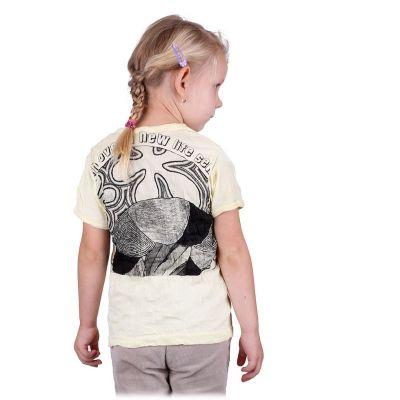 Kinder T-shirt Sure Mushroom Yellow
