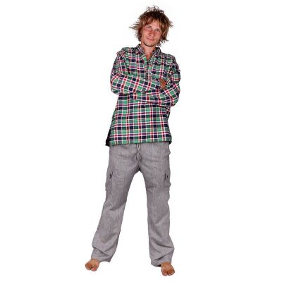 Men's cotton trousers Saku Kelabu Nepal