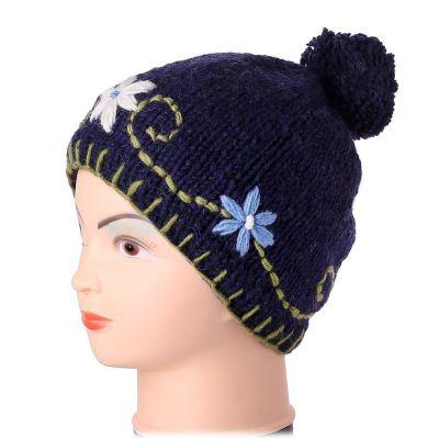 Mütze Bunga Biru