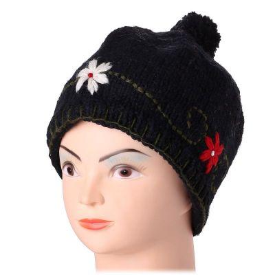 Mütze Bunga Hitam