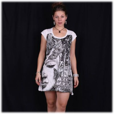 Kleid Sure Buddha's Butterflies White