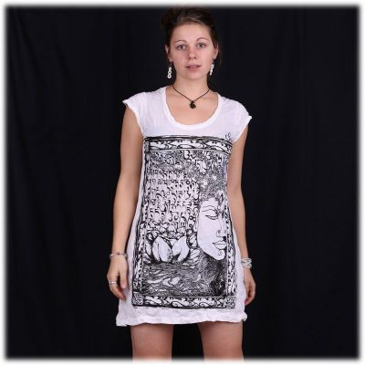 Kleid Sure Buddha's Garden White