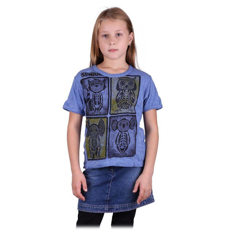 Kinder T-shirt Sure Animal X-Ray Blue
