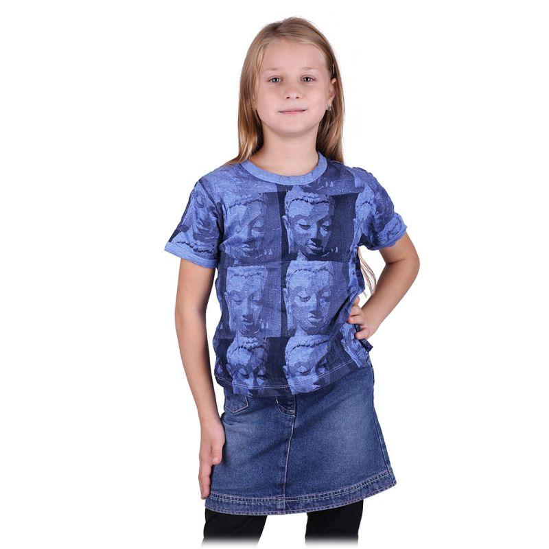Kinder T-shirt Sure Buddha Blue