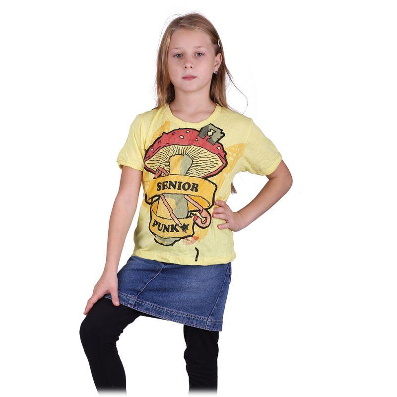 Kinder T-shirt Sure Senior Punk Yellow