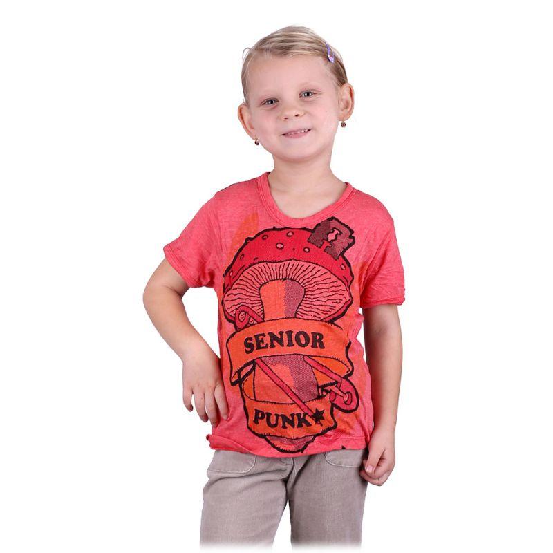 Kinder T-shirt Sure Senior Punk Pink