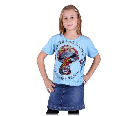 Kinder T-shirt Sure Mushroom Blue