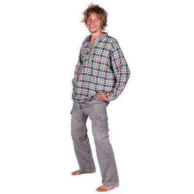 Trousers Saku Kelabu