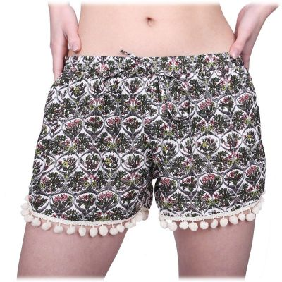 Women's lightweight shorts Rumbai Berbunga