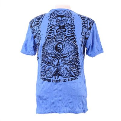 Men's t-shirt Sure Animal Pyramid Blue