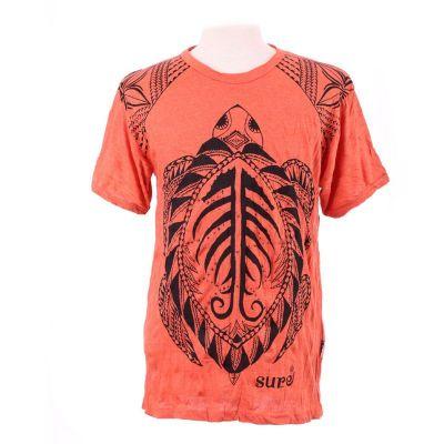 T-shirt Turtle Orange