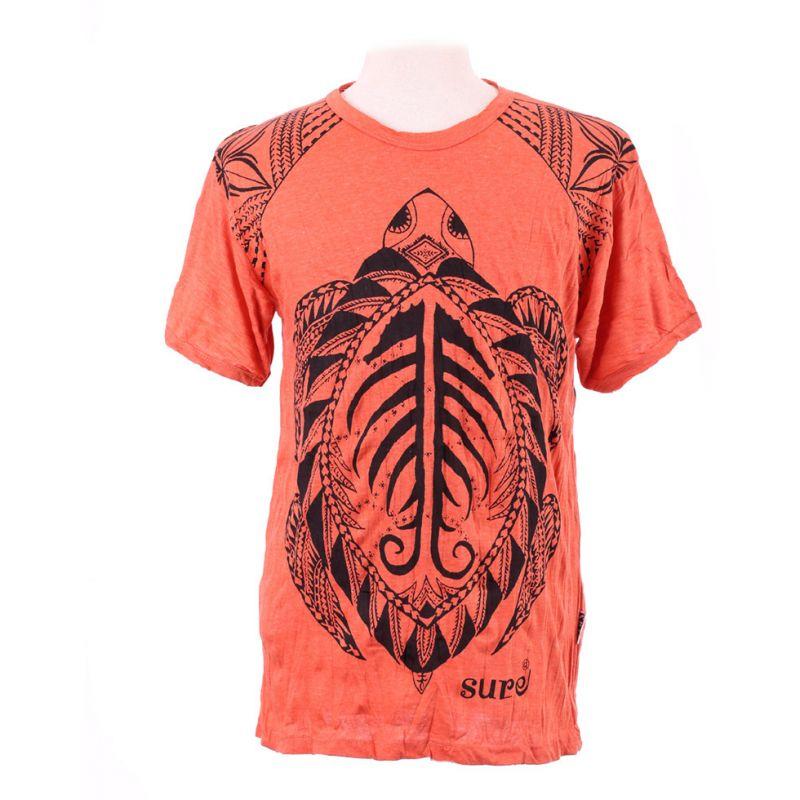 Men's t-shirt Sure Turtle Orange