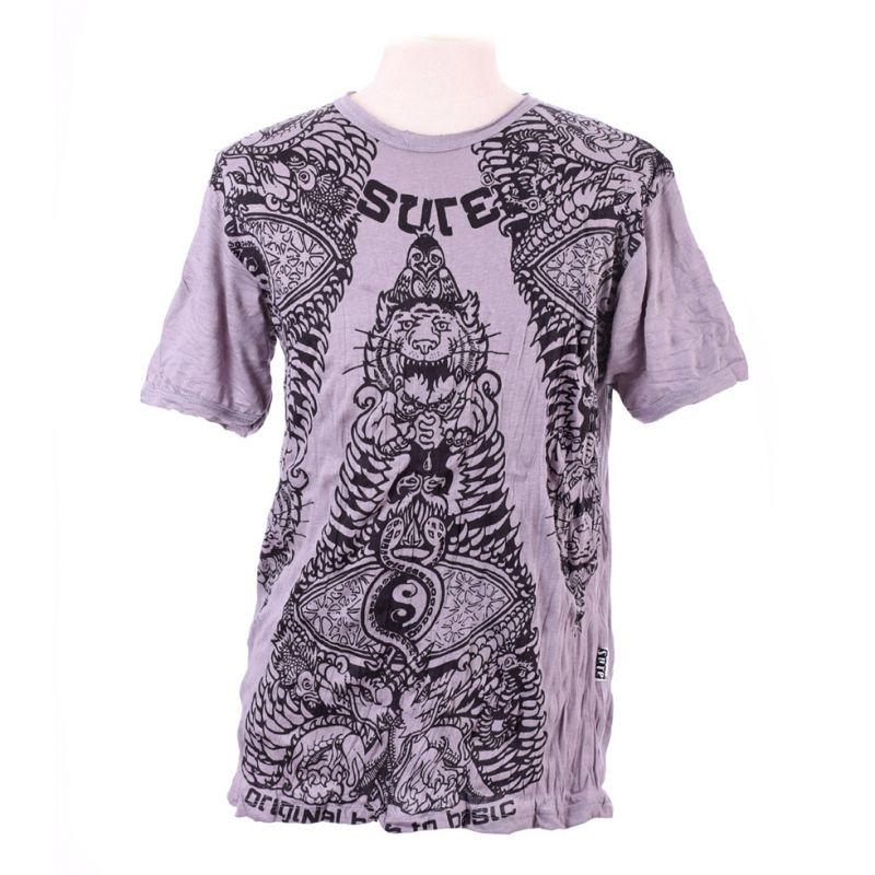 Men's t-shirt Sure Animal Pyramid Grey