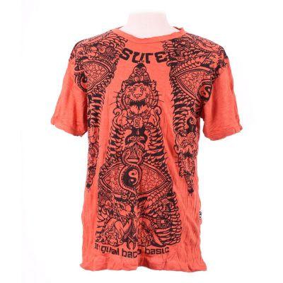 T-shirt Animal Pyramid Orange