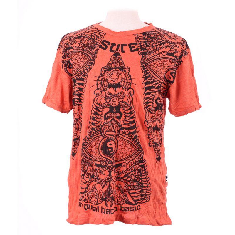 Men's t-shirt Sure Animal Pyramid Orange