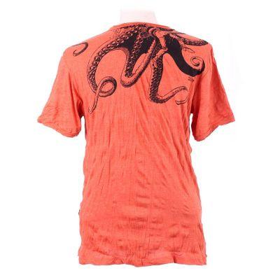Men's t-shirt Sure Octopus Attack Orange