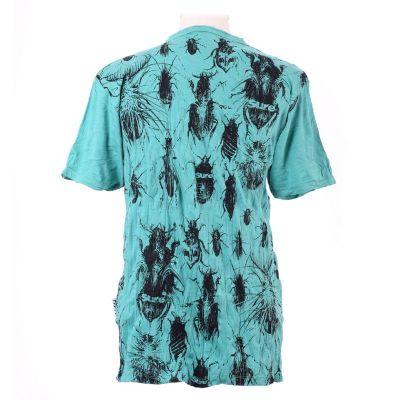 Men's t-shirt Sure Bugs Turquoise