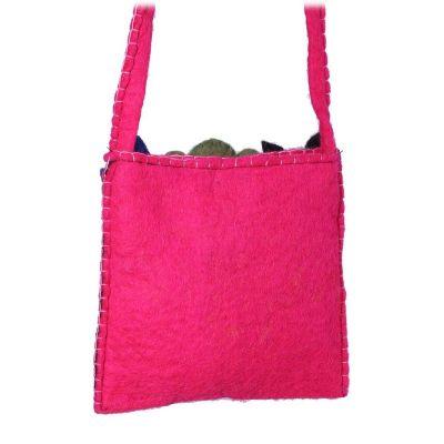 Filz-Handtasche für Kinder Tiere Rosa