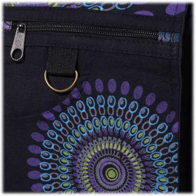 Handtasche Letusan Black