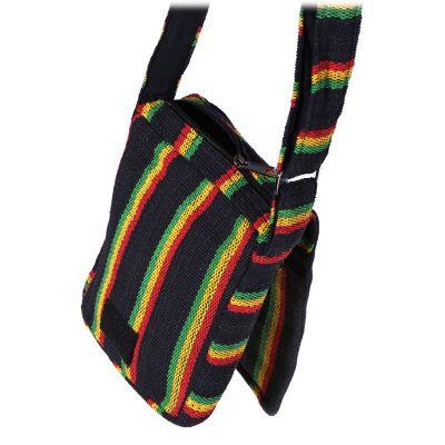 Handtasche Jalur Rasta Black