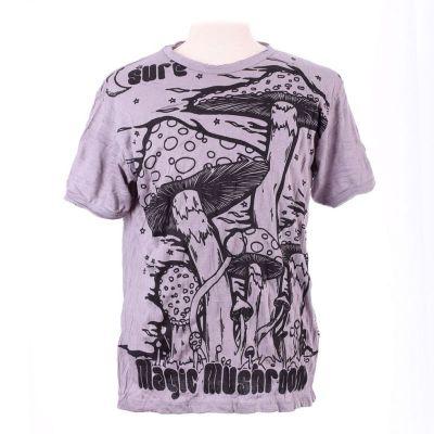 T-shirt Magic Mushroom Grey