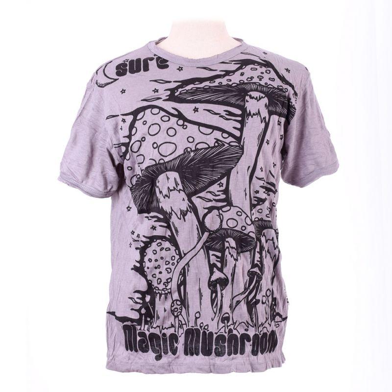 Men's t-shirt Sure Magic Mushroom Grey