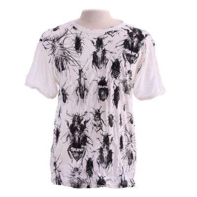 T-shirt Bugs White
