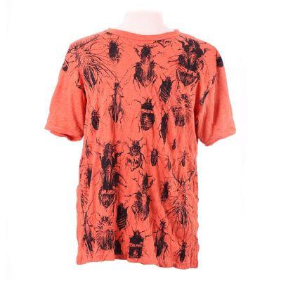 T-shirt Bugs Orange