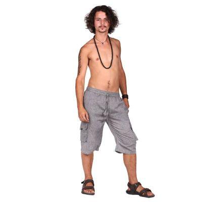 Shorts Lugas Kelabu