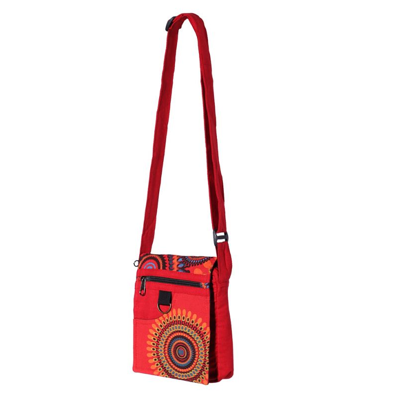 Handtasche Letusan Red