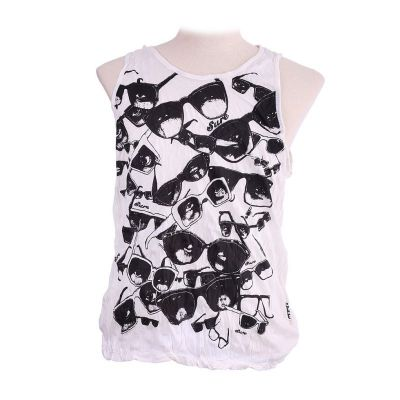Tank Top Sure Sunglasses White