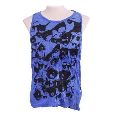 Tank Top Sure Sunglasses Blue