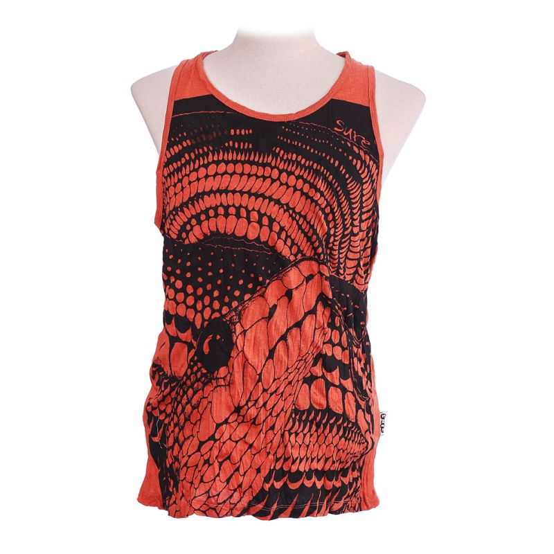 Tanktop für Herren Sure Snake Orange