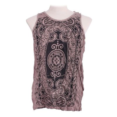 Tanktop für Herren Sure Stained Glass Brown