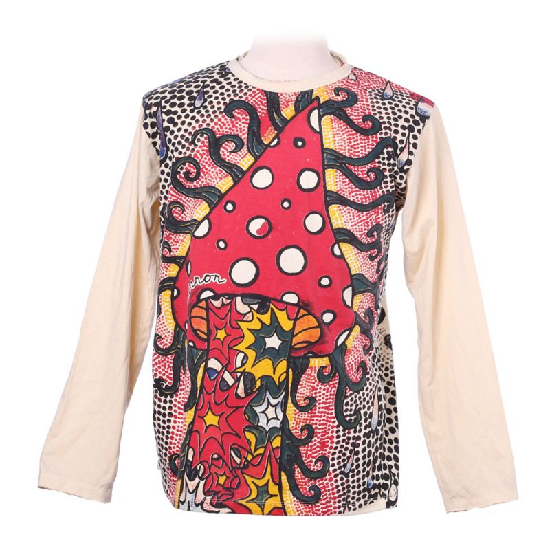 Mirror T-Shirt mit langen Ärmeln - Amanita